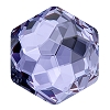 Swarovski 4683 Fantasy Hexagon Fancy Stone 7.8x8.7mm Tanzanite (144 Pieces)