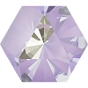 Swarovski 4699 Kaleidoscope Hexagon Fancy Stone 6x6.9mm Crystal Lavender DeLite (144 Pieces)
