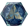 Swarovski 4699 Kaleidoscope Hexagon Fancy Stone 6x6.9mm Crystal Royal Blue DeLite (144 Pieces)
