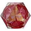 Swarovski 4699 Kaleidoscope Hexagon Fancy Stone 6x6.9mm Crystal Royal Red DeLite (144 Pieces)