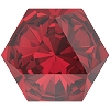Swarovski 4699 Kaleidoscope Hexagon Fancy Stone 14x16mm Scarlet (24 Pieces)