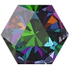 Swarovski 4699 Kaleidoscope Hexagon Fancy Stone 6x6.9mm Crystal Vitrail Medium (144 Pieces)