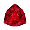 Swarovski 4706 Trilliant Fancy Stone 7mm Scarlet (144 Pieces)