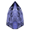 Swarovski 4707 Slim Trilliant Fancy Stone 7.8x4.9mm Tanzanite (144 Pieces)