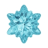 Swarovski 4753 Edelweiss Fancy Stone 18mm Aqua (24 Pieces)