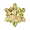 Swarovski 4753 Edelweiss Fancy Stone 14mm Crystal Luminous Green  (36 Pieces)
