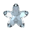 Swarovski 4754 Starbloom Fancy Stone 13x13.5mm Crystal Blue Shade (72 Pieces)
