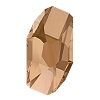Swarovski 4773 Meteor Fancy Stone 28x15mm Crystal Rose Gold (20 Pieces)