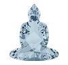 Swarovski 4779 Buddha Fancy Stones 18x15.6mm Crystal Blue Shade (48 Pieces)