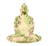 Swarovski 4779 Buddha Fancy Stones 18x15.6mm Crystal Luminous Green (48 Pieces)