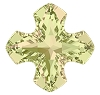Swarovski 4784 Greek Cross Fancy Stone 14mm Crystal Luminous Green (72 Pieces)
