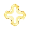Swarovski 4784/S Greek Cross Fancy Stone Setting 8mm Gold Plated 4 Holes (144 Pieces)