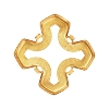 Swarovski 4784/S Greek Cross Fancy Stone Setting 23mm Gold Plated 4 Holes (30 Pieces)