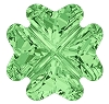 Swarovski 4785 Clover Fancy Stone 14mm Peridot (36 Pieces)