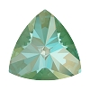 Swarovski 4799 Kaleidoscope Triangle Fancy Stone 6x6.1mm Crystal Silky Sage DeLite (144 Pieces)