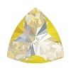 Swarovski 4799 Kaleidoscope Triangle Fancy Stone 6x6.1mm Crystal Sunshine DeLite (144 Pieces)