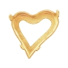 Swarovski 4809/S Sweet Heart (Right) Fancy Stone Setting 17x15.5mm Unplated No Holes (48 Pieces)