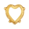 Swarovski 4831/S Antique Heart Fancy Stone Setting 5.5x5mm Unplated No Holes (360 Pieces)