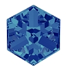 Swarovski 4841 Cube Fancy Stone 4mm Crystal Bermuda Blue (288 Pieces)