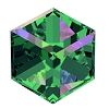 Swarovski 4841 Cube Fancy Stone 4mm Crystal Vitrail Medium (288 Pieces)