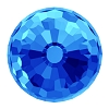 Swarovski 4869 Disco Ball Fancy Stone 6mm Crystal Bermuda Blue (180 Pieces)