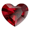 Swarovski 4883 Mini Heart Fancy Stone 3.6x3.1mm Scarlet (720 Pieces)