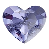 Swarovski 4883 Mini Heart Fancy Stone 3.6x3.1mm Tanzanite (720 Pieces)