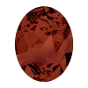 Swarovski 4920 Kaputt Oval Fancy Stone 23x18mm Crystal Red Magma (15 Pieces)