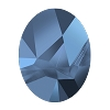 Swarovski 4921 Kaputt Oval Fancy Stone 23x18mm Crystal Metallic Blue (15 pieces)
