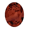 Swarovski 4921 Kaputt Oval Fancy Stone 23x18mm Crystal Red Magma (15 pieces)