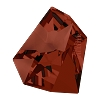 Swarovski 4922 Kaputt Fancy Stone 28x24mm Crystal Red Magma (8 pieces)