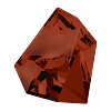Swarovski 4923 Kaputt Fancy Stone 38x33mm Crystal Red Magma (6 pieces)