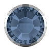 Swarovski 2038/I Hot Fix Rimmed Flatback Rhinestones SS10 Denim Blue with Light Chrome Rim (1,440 Pieces)