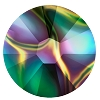 Swarovski 2038 Hot Fix Xilion Flatback Rhinestones SS10 Crystal Rainbow Dark (1,440 Pieces)