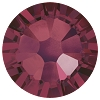 Swarovski 2038 Hot Fix Xilion Flatback Rhinestones SS 6 Burgundy (1,440 Pieces)