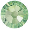 Swarovski 2038 Hot Fix Xilion Flatback Rhinestones SS10 Chrysolite (1,440 Pieces)