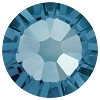 Swarovski 2038 Hot Fix Xilion Flatback Rhinestones SS10 Denim Blue (1,440 Pieces)