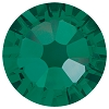 Swarovski 2038 Hot Fix Xilion Flatback Rhinestones SS10 Emerald (1,440 Pieces)