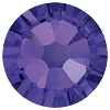 Swarovski 2038 Hot Fix Xilion Flatback Rhinestones SS10 Purple Velvet (1,440 Pieces)