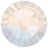 Swarovski 2038 Hot Fix Xilion Flatback Rhinestones SS10 White Opal (1,440 Pieces)