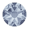 Swarovski 2078 Hot Fix Xirius Flatback Rhinestones SS12 Crystal Blue Shade