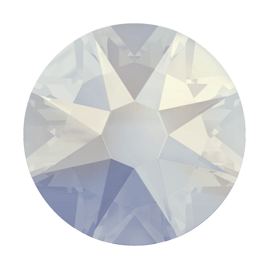 Swarovski 2078 Hot Fix Rhinestones White Opal Ss12 Harman