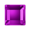 Swarovski 2400 Hot Fix Square Flatback Rhinestones 2.2mm Amethyst (1,440 Pieces)