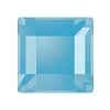 Swarovski 2400 Hot Fix Square Flatback Rhinestones 3mm Aqua (1,440 Pieces)