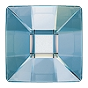 Swarovski 2483 Hot Fix Classic Square Flatback Rhinestones 10mm Crystal Blue Shade (144 Pieces)