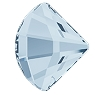 Swarovski 2714 Fan Flatback Rhinestones 10mm Crystal Blue Shade