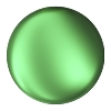 Swarovski 5860 Crystal Coin Pearl 12mm Eden Green (100 Pieces)
