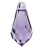 Swarovski 6000 Drop Pendant 11x5.5mm Tanzanite