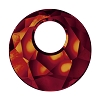 Swarovski 6041 Victory Pendant 18mm Crystal Red Magma