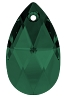 Swarovski 6106 Pear Pendant 22mm Emerald